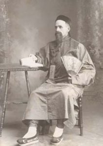 Daniel Nelson, Sr. first Norwegian-American missionary to China. 1890