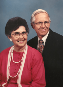 Photo of Paul and Ruth Hauge