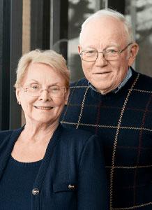 Photo of Joyce and John Thompsen