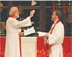 ELCA Presiding Bishop Mark Hanson installed Richard Bliese as president of Luther Seminary.
