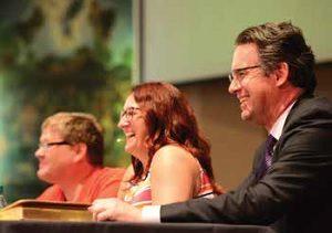 Sermon Brainwavers (from left): Rolf Jacobson