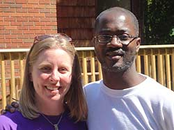 The partnership of Kirsten Laderach and Pastor Yehiel Curry took faith and determination.