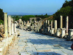 A street in ancient Ephesus