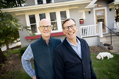 Jeff Sartain and Mark Sedio